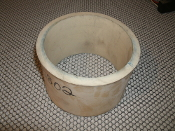 "Pipe Leak Wrap. 5750802. New. 5 1/4"" OD, 4 1/2"" ID. 3/8"" Thick. 3 3/8"" Height. No clamps are included."