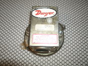 Dwyer 1900-5 Low Differential Pressure Switch, Refurbished. SPDT Switch Type. Max. Pressure 45 IN. W.C., Surge Pressure 10 PSI. MAX. Temperature 110 F. 43 C. Use NO. 14 AWG Wire. Manual Reset Button.