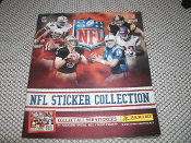 NFL Sticker Collection Book. P10/10. 2010 Yearbook. New. Panini America Yearbook. 613297734253. Collect All 560 Stickers by Purchasing Official NFL Sticker Packets. 72 Pages.
