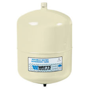 "Watts PLT-5 Potable Water Expansion Tank. 0067370. 098268095739. Watts Regulator. Pre-pressurized Diaphragm Type, Inlet 3/4"" NPT. Pre-charge Pressure: 20 PSI. Max. Working (water) 150 psig."