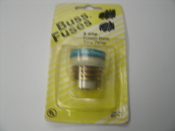 Cooper Bussmann BP/T-8 Fuse. New. 8 AMP, 8A. Edison Base. Dual Element Time Delay. 051712103077. 1 Fuse per Order. Type T.