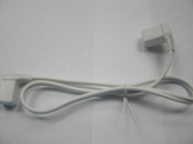 "Hera SCC24/XL SlimLite Connecting Cable. 2'=24"". 757246021404. New. Pin Type. Use with SlimLite Flouresent Light-20""/13""/10"" Long."