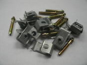 Elkay 64090012 Bag of Clips and Screws. New. Sink Installation Kit.