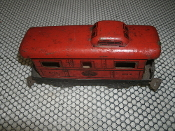Marx New York Central Lines 694 Cabosse Train. Used. O Scale. Tin. Pre-War. 4 Wheels. MAR Toys