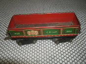 Marx Rock Island 552 C.R.I.&P. Train. Used. 8 Wheels. O Scale. Gondola Car. MAR Toys.