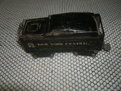 Marx New York Central Coal Car Train. Used. O Scale. Mar Toys Marlines. 8 Wheels.