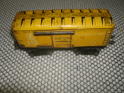 "Marx O Gauge Baltimore & Ohio Train. 384299. Used. B&O. 555. Marlines. 6"". MAR Toys."