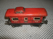 "New York Cental Lines O Guage 556. Caboose Train. 8 Wheels. Used. 6""."