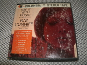 Say it with Music. CQ 307 A Touch of Latin. Used. 4 Track Stereo Tape. Ray Conniff His Orchestra and Chorus. Columbia
