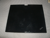 IBM ThinkPad X Series 42W3773 LCD Back Cover. Black. 6K.4T8CS.007. Refurbished. X60 X61 Laptop. No wireless cables.