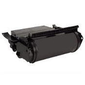 Lexmark T520 Black Toner Compatible Cartridge. New. For Use in: Lexmark T520 and Lexmark T522 Printers. Replaces Part # 12A6735.