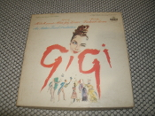 Gigi. An Arthur Freed Production. 4 Track Tape. MGM Presents Alan Jay Lerner. Frederick Loewe. STC-3641. STC3641.