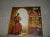 Bizet Carmen. ZC 3613 Victoria de los Angeles. 2 Tape Set. Nicolai Getta, Earnest Blanc, Janine Micheau. Used. Orchestra National de la