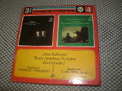 Arthur Rubinstein Boston Symphony Orchestra. TR3 5019. Used. 4 Track Tape. 3 3/4 IPS. Contains 2 Complete Stereo Albums.