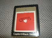 Carpenters, A Song For You. 8 Track Tape. 8T-3511. Used. AM Stereo Tape. 1972.
