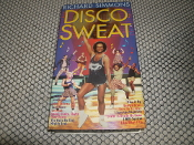 Disco Sweat. Richard Simmons. VHS Tape. Used. Goodtimes. 018713094025. 1-55511-503-9. 1555115039. 70 Minutes. Color.