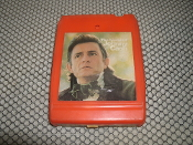 The World of Johnney Cash. 8 Track Tape. 18 BO 0906. TC8. 20 All-Time Great Recordings. Colombia.