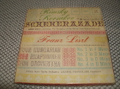 Rimsky Korsakov Scheherazade. VTF-1612. Used. 4 Track Tape. Mario Roosi Conducting the Orchestra of the Vienna State Opera (Volksoper).