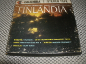 Finlandia MQ-380 Used. 4 Track Tape. Columbia Stereo Tape. The Philadelphia, Eugene Ormandy, Conductor.