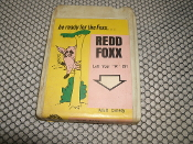 "Red Foxx. 097. 8 Track Tape. Laff Your ""A"" Off. Adult Comedy. Be Ready for the Foxx. Used."