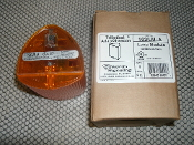 Edwards Signaling 102LM-A Lens Module. Amber/Orange. New. 782640504017. Triliptical Adaptabeacon. Sub-Assembly. P/N: 3100700.