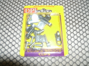 "DPI 7421 Zinc Door Clips. 1/16"" Offset. 081304074218. New. Retail Package. 8 Clips with screws."