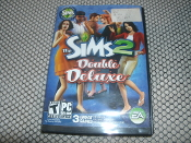 The Sims 2. Double Deluxe. Used. 014633159707. 0784545766. 2 DVD's. 647307. 3 Great Games. EA.
