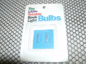 The Little Totable Book Light Bulbs. 11001. 049201110019. Two Per Package. New. Retail Package. 1889207144. 9781889207148. 50500.