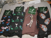 "John Weitz Fashion Collection Socks. ""Lot of 26"". New. Size 10-13. JW-7000/1-SAL. 100065185. RN#12129. 680557022580."
