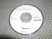 Tektronix K1297-G20 System and Application Software. CD. version V2.00. Used.