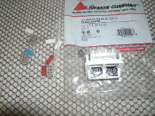 Siemon CT-5-T4-T4-02 CT Coupler. Dual. 2 Port. New. CAT5, T568A, White. 700416014966. 01032-1277. White.
