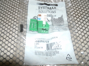 Systimax 700206709 Green CAT5 Connector. New. MGS400BH-226. 8841041570570.
