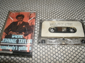 Johnnie Taylor. TC CRB 1216. Somebody's Gettin' It. 082333095640. Used. Cassette Tape. Charly R&B.
