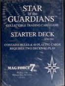 Star of the Guardians. 1-565049-90-X. Starter Deck. Collectible Trading Cards. MAG7001. Contains Rules and 60 Playing Cards. MAG Force 7. 9781565049901. 062470010002