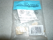 Allen Tel Products. AT34-09 Connector. RJ11. New. Ivory. 799158553918. Listed 93S9 E131692. Complies With FC Part 68. Communication Circuit Accessory. ATP.