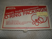 Sexauer 084491 O-Rings With Case. New. Handy Andy Assortment O-Ring Packings. Box #084491. J.A. Sexauer. 5330-00-407-2592. Cage 2U435 P?N: 072421. SPO540-99-M-R553.