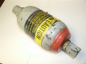 Greer Hydraulics 0018-810070 Accumulator. Used. Size: 1 Pint. Mod. No. 30A-1/8A. 0795. Max WP 3000 PSI.