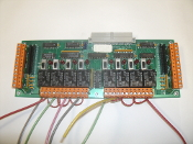 TAC 330385-01B Expander Board. 8Ul/8DO. 330387-01. REV: B. Working Pull. Refurbished.