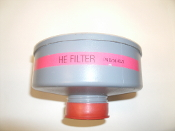 Jackson Products HE Filter. 0756-0523. New. NIOSH Gas Filter. TC-21C-764. 08.078H.