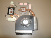 Delta Electronics KSB06105HA DC Brushless Laptop Fan With heat sink. Refurbished. OEM. DC05V, 0.40A -9B31. 0308F6R.