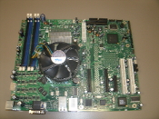 Intel® Entry Server Board SE7230NH1-E Motherboard With Processor and CPU Fan. Refurbished. Pulled from a working server. D18022-004. P62655A. ELEC5K-02. Intel fan: D34017-001.
