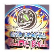 Gyro Compass Glide Ball. KN-629. New. P.l.l 2002. USA Toys. 751605412582.