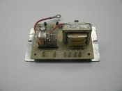National Controls LHC-NS157-120 Resistance Sensor Low Water Detect Logic Board with Metal Plate. Used.