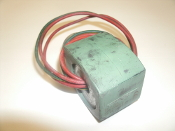 Asco MP-C-080 Solenoid Valve Coil. Used. 238210-058D. 3 Wire. For Asco 2 way 3 way 8353 8320 8030 8040 8220 8262 8263.