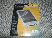 Fellowes 98167 WriteRight Micro-Thin Screen Protectors. T615C. Model: 855862. UPC: 077511981678