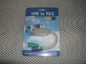 USB to 2 PS/2 Cable. HL-0002A.