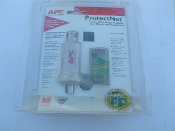 731304000419, APC Part # P10B2. APC ProtectNet Thinnet Port Surge Protector for 10Base2 Lan Equipment. UPC: 731304000419, APC Part # P10B2