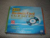 E Card Business Card CD-R DIY Kit. PLU NO:2753963. UPC: 677445700323.