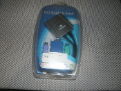 PS/2 Mini KVM Switch with 6' of cable. 0428K4-0638 CS. 820004230377