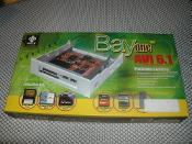"Bayone AVI 6.1 6-in-1 Flash Memory Reader/Writer. New in Retail Box. UPC: 660475040279. Fits 3.5"" and 5.25"" bay"